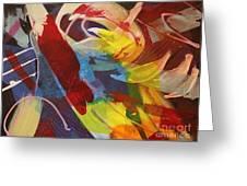 Raw Paint - 281 Greeting Card