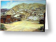 Rawhide Nevada Greeting Card by Evelyne Boynton Grierson