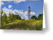 Rawley Point Lighthouse Greeting Card