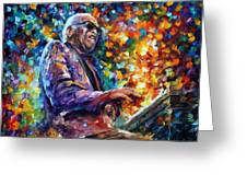 Ray Charles Greeting Card