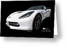 Ray Of Light - Corvette Stingray Greeting Card