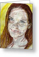 Rayah Newman, Portrait Greeting Card