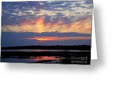 Rays Of Glory Greeting Card