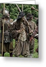 Re-enactment Soldiers Greeting Card