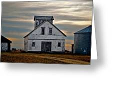 Re-purposed Grainery Greeting Card