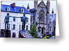 Reach Out - Belfast Ireland Greeting Card