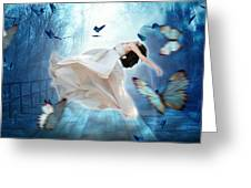 I Dreamt I Could Fly Greeting Card