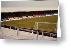 Reading - Elm Park - Norfolk Road Stand 4 - 1970s Greeting Card