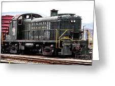 Reading Rr Engine 467 Greeting Card