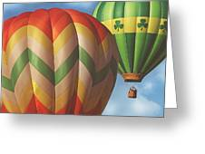 Readington Balloon Festival #2 2015 Greeting Card