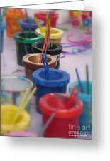 Ready   Set    Paint Greeting Card