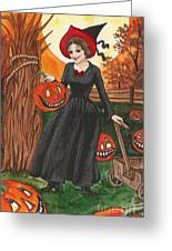 Ready For Halloween Greeting Card