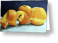 Ready For Oranges Greeting Card