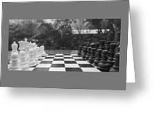 Ready Set Chess Greeting Card