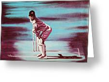 Ready To Bat Greeting Card
