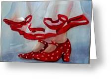 Ready To Dance Greeting Card