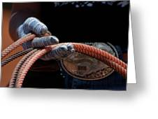 Ready To Rope Greeting Card
