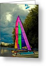 Ready To Sail Greeting Card