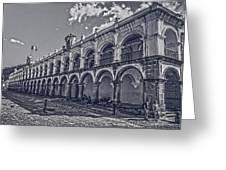 Real Palacio De Los Capitanes Generales Greeting Card