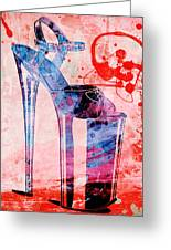 Big Bad Stiletto  Greeting Card