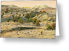 Realm Of Golden West Dakota Greeting Card