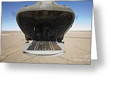 Rear Platform Of A Ch-47 Chinook Greeting Card