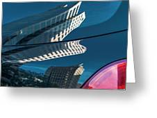 Rear Reflections Greeting Card