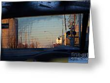Rear View 2 - The Places I Have Been Greeting Card