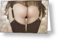 Rear View I Greeting Card