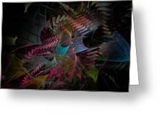 Reason And Virtue - Fractal Art Greeting Card
