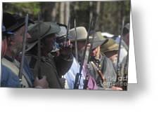 Rebel Bayonets Greeting Card