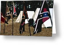 Rebel Camp Greeting Card