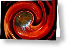 Rebirth In Firework Greeting Card