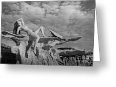 Reclined Greeting Card