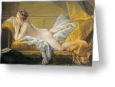 Reclining Nude Greeting Card