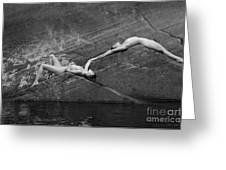 Reclining Nudes Greeting Card