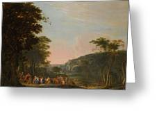 Reconciliation Of Jacob And Esau Greeting Card