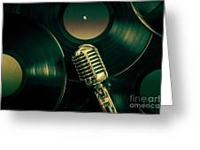 Recording Studio Art Greeting Card
