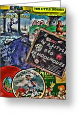 Records For Children Greeting Card