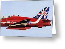 Red 6 - Xx227 Greeting Card