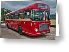 Red And White Rs 167 - Bristol Resl6l  #2 Greeting Card