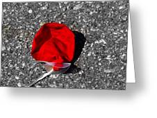 Red Balloon II Greeting Card