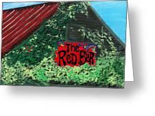 Red Bar - Grayton Beach Greeting Card