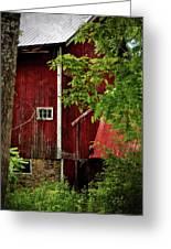 Red Barn 1 Greeting Card