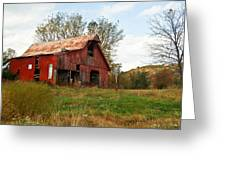 Red Barn Putnum County Greeting Card