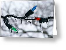Red Blue Green Photograph Greeting Card