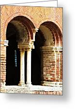Red Brick Archway Soft Greeting Card