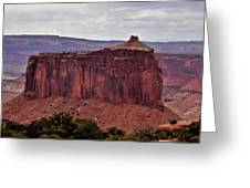 Red Butte Greeting Card