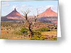 Red Buttes Greeting Card
