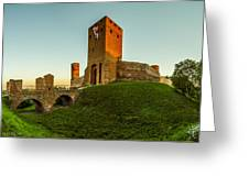 Red Castle Of Czersk Greeting Card by